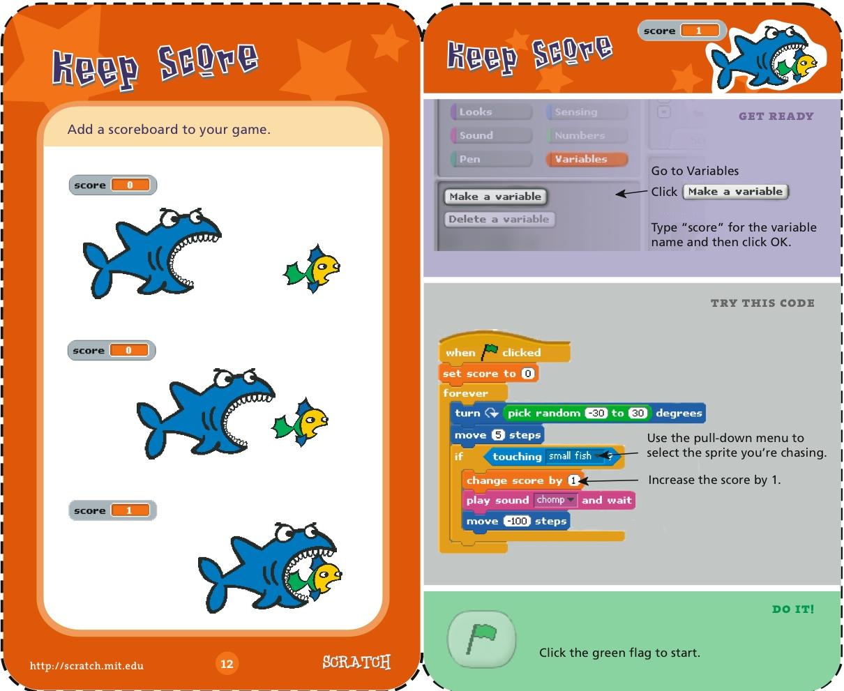 Keeping Score >> Scratch   Try it Out   Keep Score